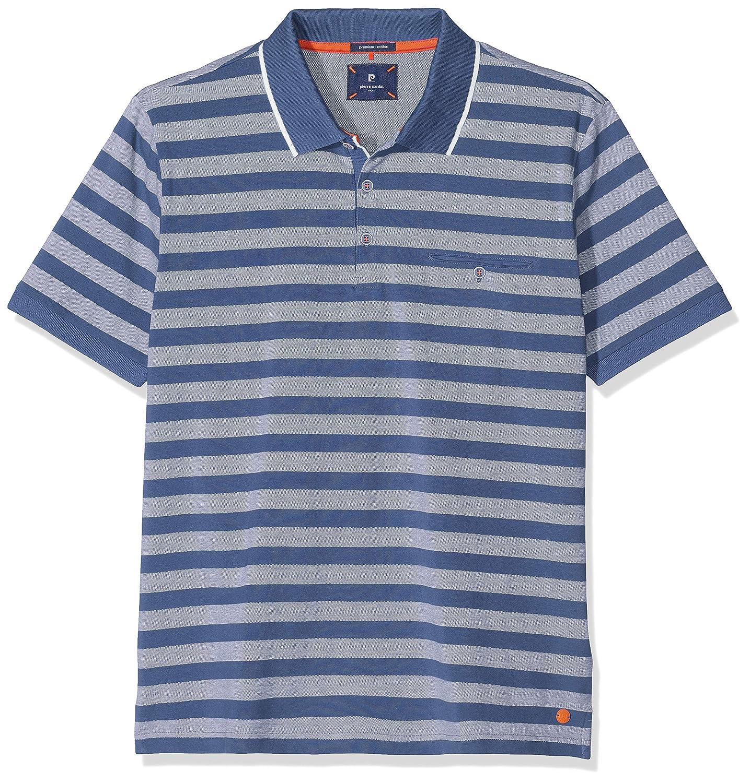 Pierre Cardin Poloshirt Premium Cotton Pique Bicolor Streifen ...
