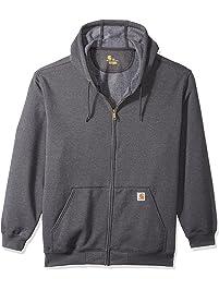 Carhartt Men s Big and Tall Big   Tall Midweight Zip Front Hooded Sweatshirt  K122 fc83212ac
