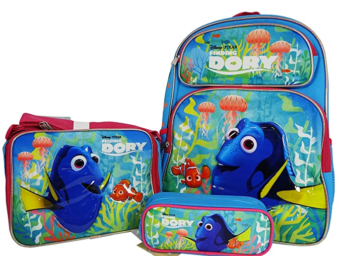 Image Unavailable. Image not available for. Color  Disney Pixar Finding Dory  Backpack Lunch ... 7d44537faa0ce