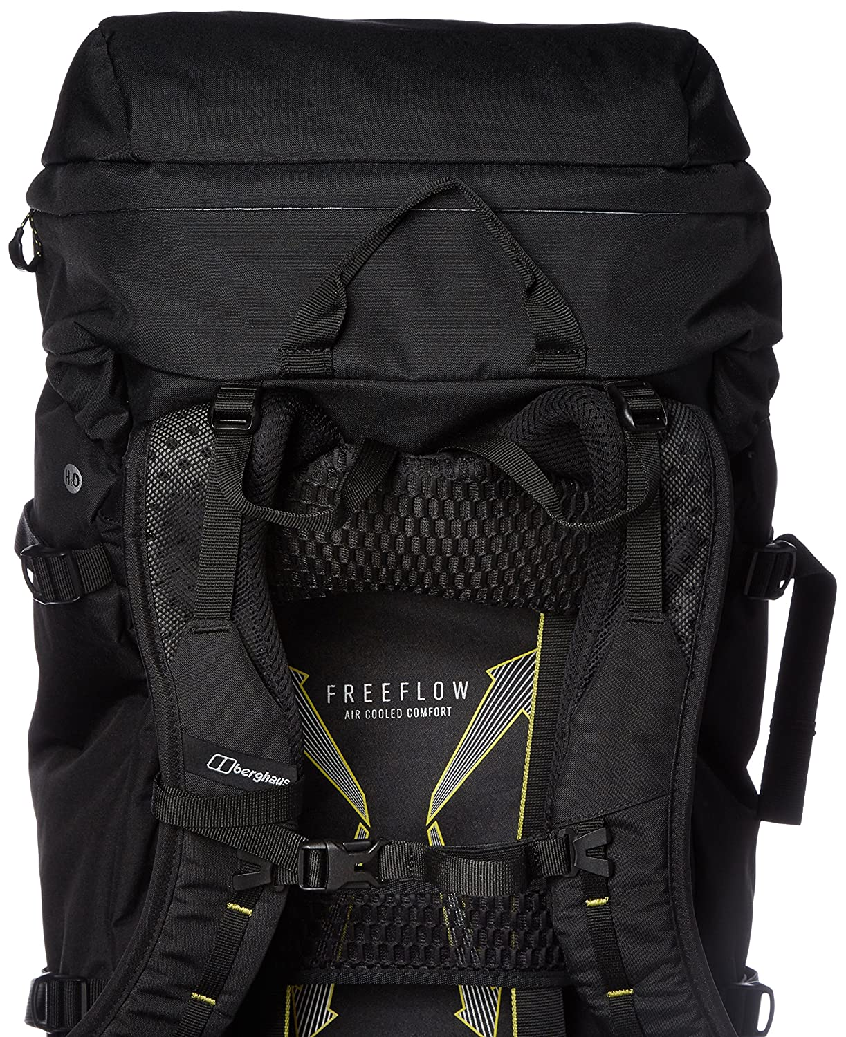 c2402d2819bf Berghaus Freeflow Outdoor Backpack available in Black Black - 40 Litres   Amazon.co.uk  Sports   Outdoors