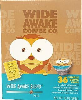 Wide Awake Coffee Wide Awake Blend K-Cups 36 Count