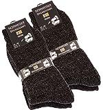 4 paia Calze a maglia norvegesi lana