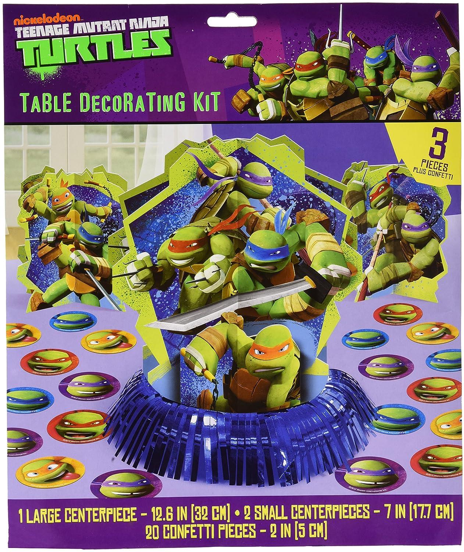 Amscan Totally Tubular Teenage Mutant Ninja Turtles Table Decorating