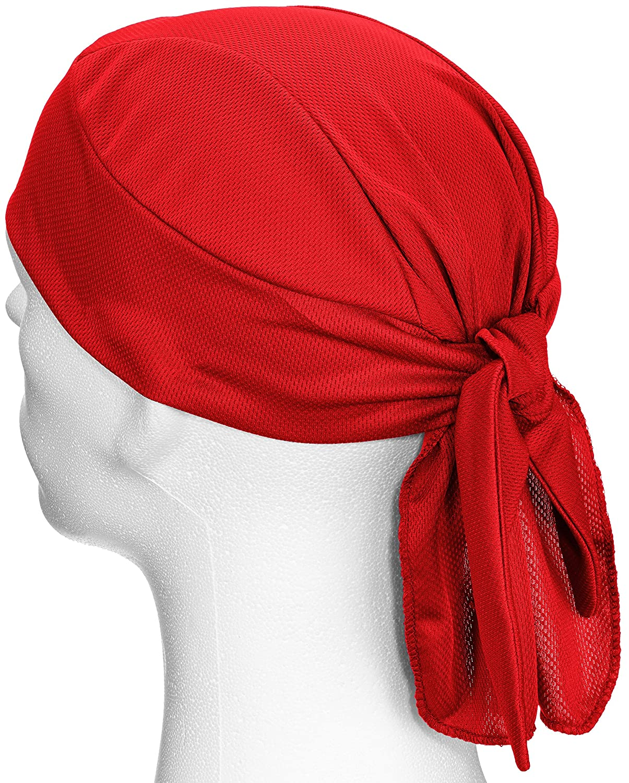 Rogelli Lightweight Bandana-Red One Size