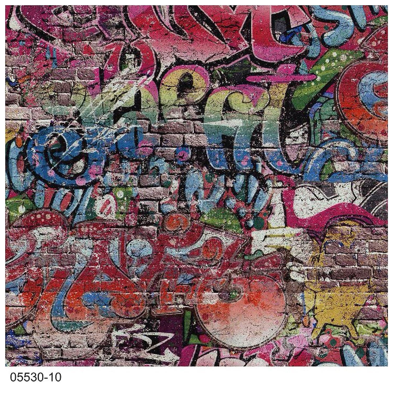 Ps graffiti street art children kids teenager tag brick wall textured wallpaper