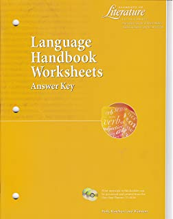 Language handbook worksheets answer key elements of literature 1st 7 offers from 39744 elements of literature fifth course grade 11 language handbook worksheets answer key fandeluxe Choice Image