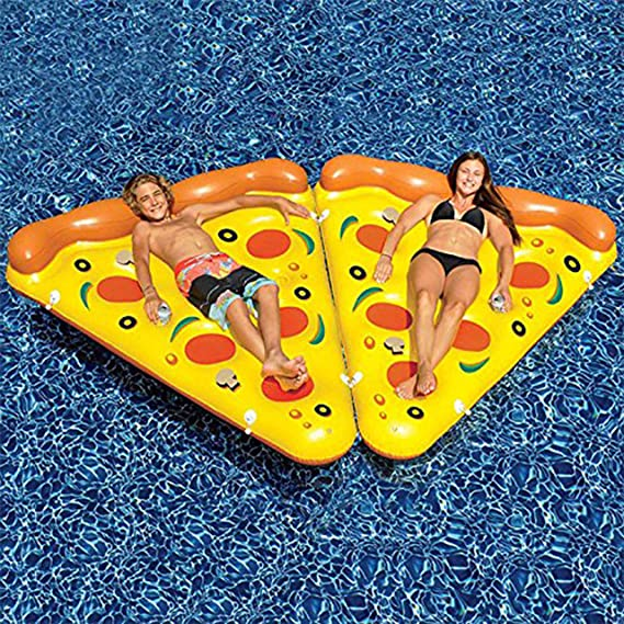 Amazon.com: Inflable Pizza- inflable gigante Pizza Slice, 6 ...