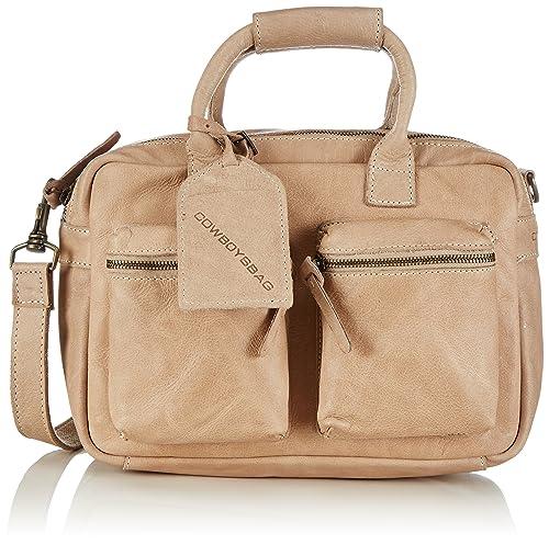 b8561106cba Cowboysbag Women's The Little Bag Top-Handle Bag Beige Beige (Sand ...