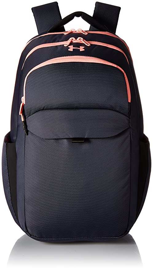 Under Armour Women's On Balance Backpack,Midnight Navy /Cape Coral, One Size best gym backpacks