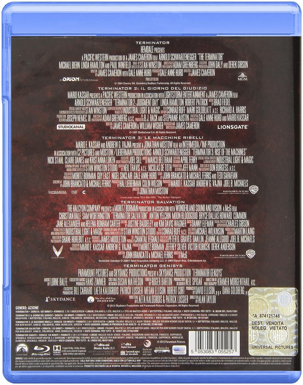Terminator Collection (5 Blu-Ray) @ Amazon.it a 14.99€
