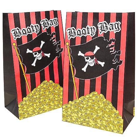 Paquete de 36 bolsas de regalo de fiesta de pirata para ...