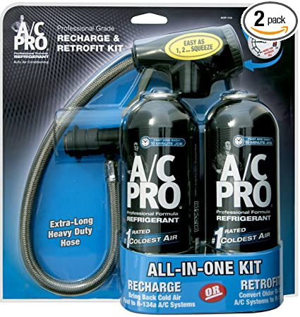 Amazon interdynamics ac pro auto refrigerant recharge interdynamics ac pro auto refrigerant recharge retrofit kit two 15 oz solutioingenieria Image collections