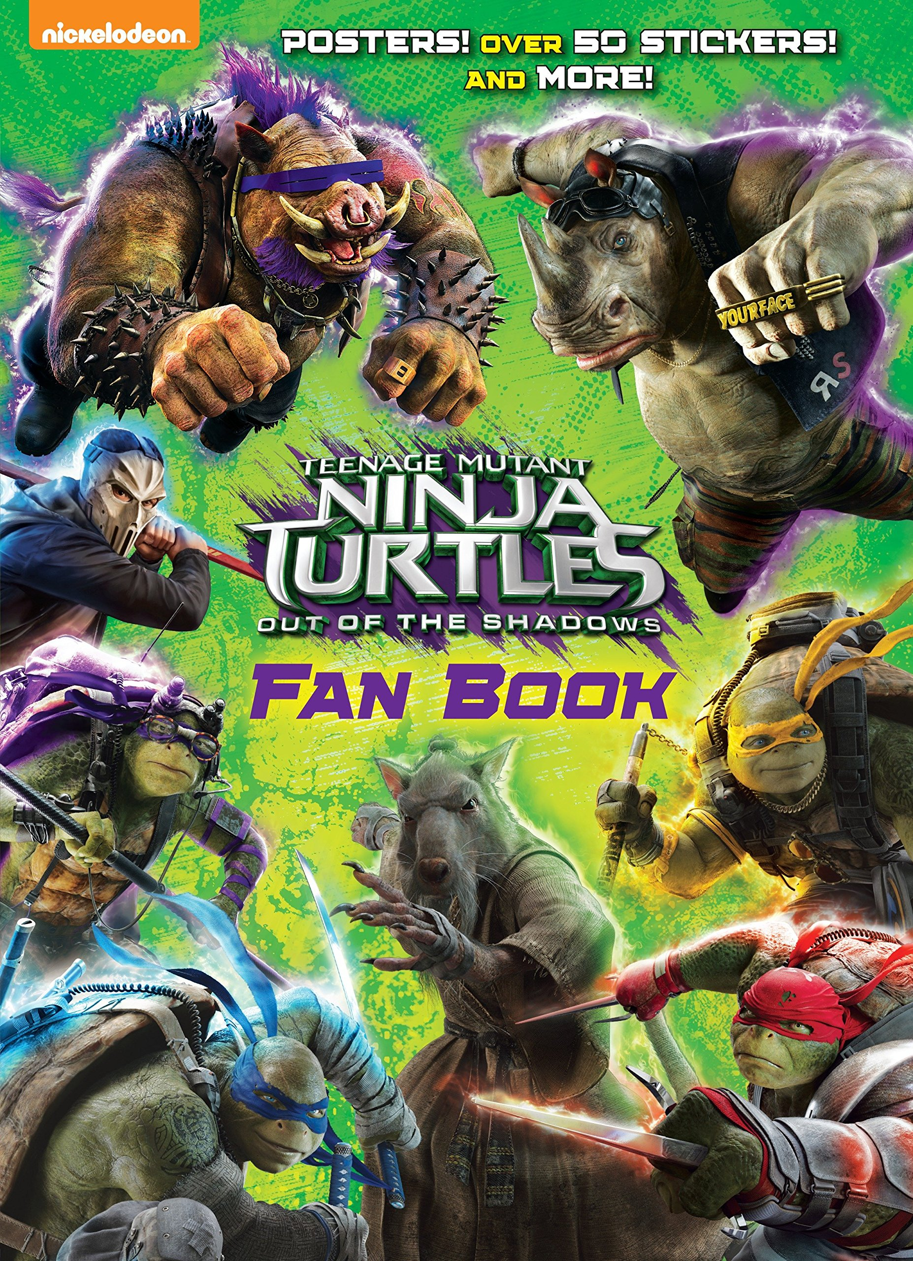 Amazon Com Teenage Mutant Ninja Turtles Out Of The Shadows Fan Book Teenage Mutant Ninja Turtles Out Of The Shadows 9781101940303 Golden Books Golden Books Books