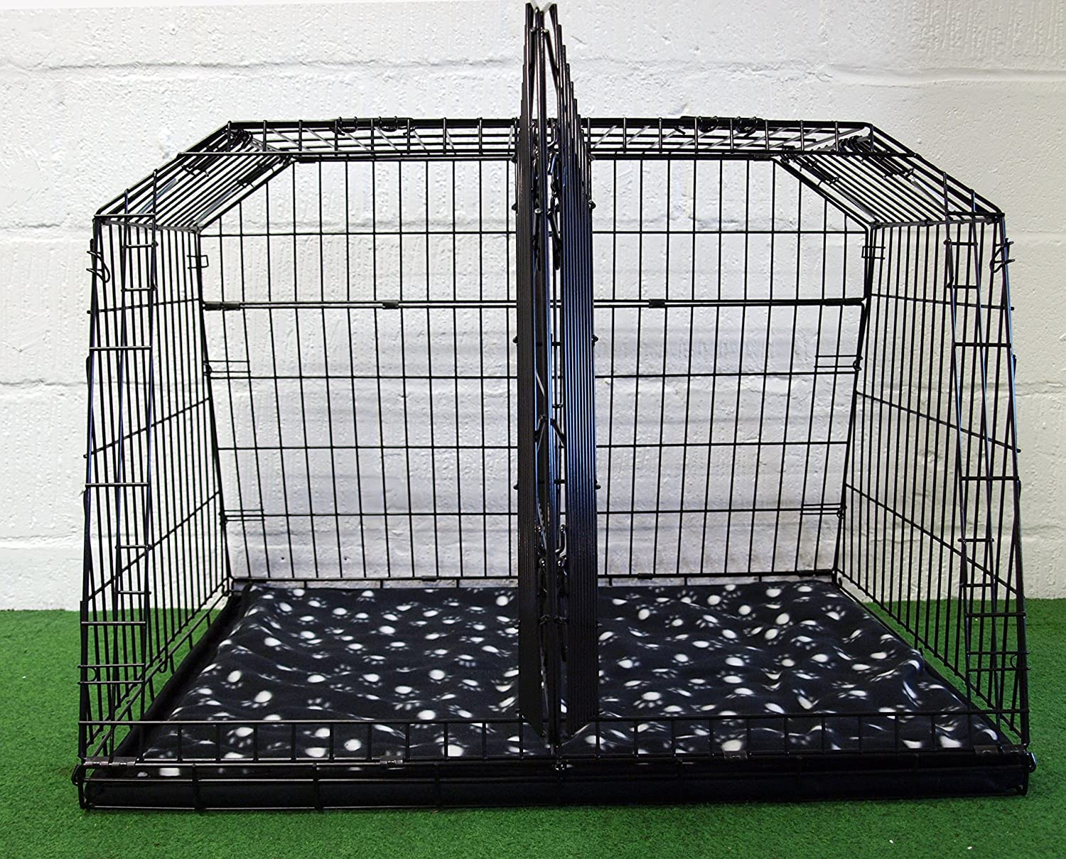Arrow ESTATE 4x4 38 SLOPED CAR DOG CAGE TRAVEL CRATE PUPPY BOOT GUARD CAGES est38xl
