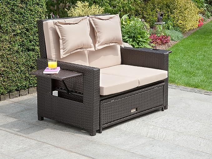 Canapé de 2 jardin de greemotion places convertible Lit DWY92EHI
