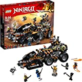 LEGO 70654 NINJAGO Dragon Hunters Dieselnaut Toy Tank, Ninja Warriors Vehicle Building Sets for Kids