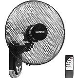 Duronic FN55 Muurventilator | Oscillerende Wandventilator | Draaiende Ventilator | Afstandsbediening | Timer | Ø 40 cm…