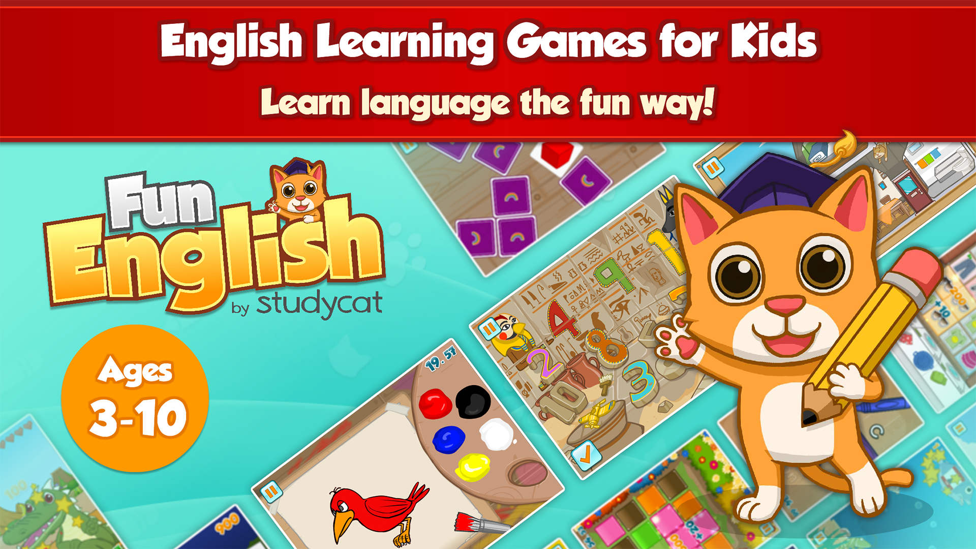 Amazon.com: Fun English: Language Learning Games for Kids: Appstore ...