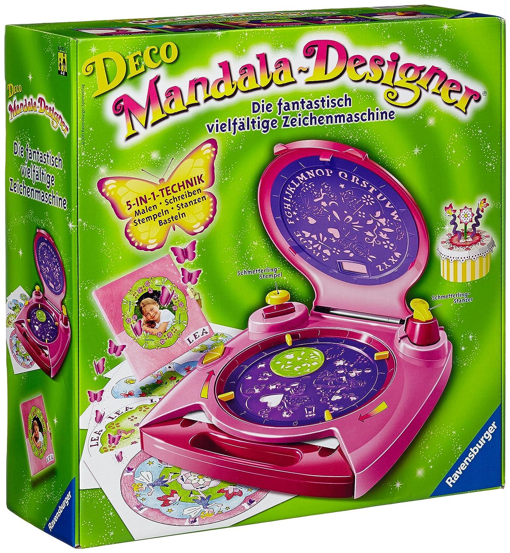 Ravensburger Deco Mandala Designer 18675Stencil-based Dessin jouet