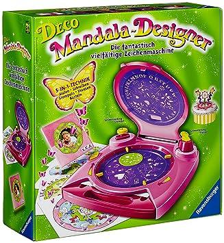 Ravensburger 18675 Deco Mandala - Máquina de diseño [Importado de Alemania]: Amazon.es: Juguetes y juegos