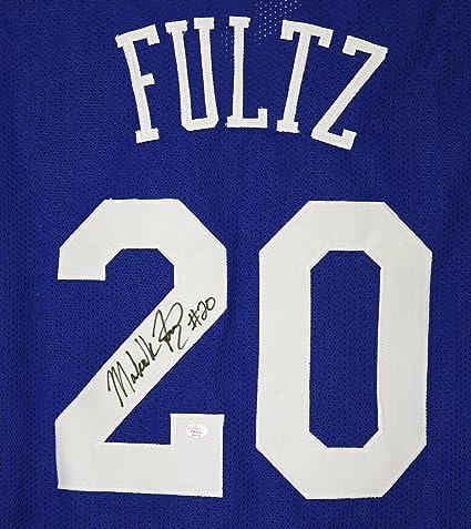 Markelle Fultz Philadelphia 76ers Signed Autographed Blue  20 Custom Jersey  PAAS COA 982ef0a2c
