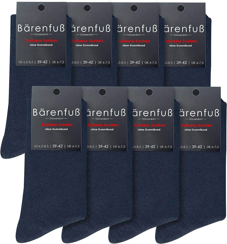 B/ärenfu/ß Herren /& Damen Premium Socken 8 Paar ohne sp/ürbare Naht und Fusseln