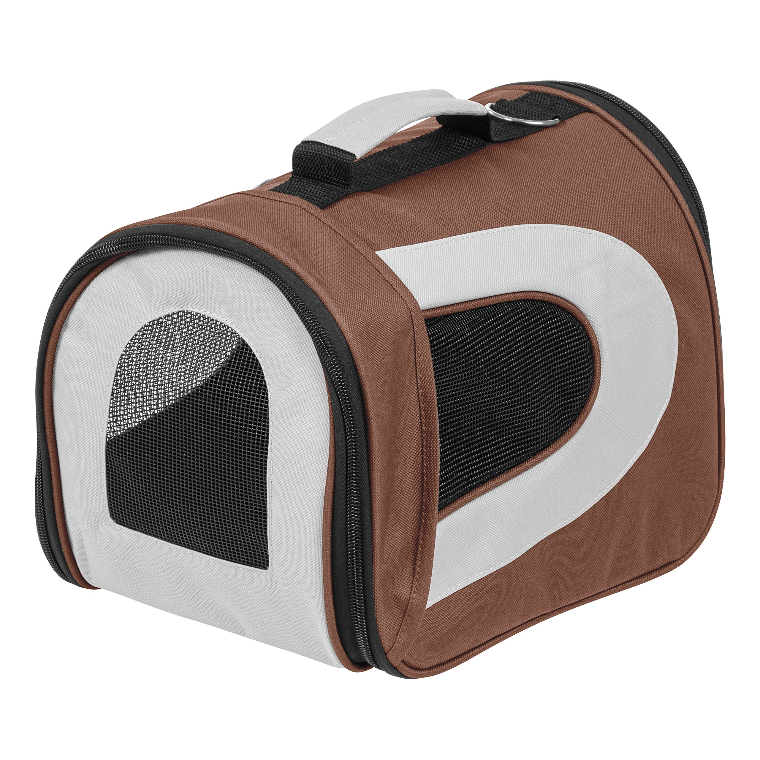 IRIS Small Soft Sided Carrier, Brown