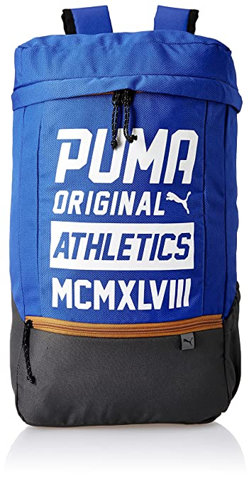 866c2c5b14 Puma 24 Ltrs Lapis Blue-White Laptop Backpack (7482702)  Amazon.in  Bags