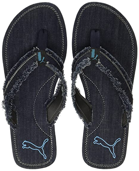 Black Flip Flops Thong Sandals