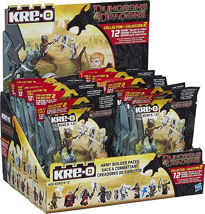 Hasbro Dungeons & Dragons Kre-O Army Builder Blind Pack: Amazon.es: Juguetes y juegos