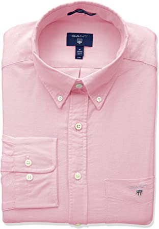 The Oxford - Camiseta (talla BD),100% Algodón,Cierre: Botón,lavar a máquina - caliente (mayor de 30