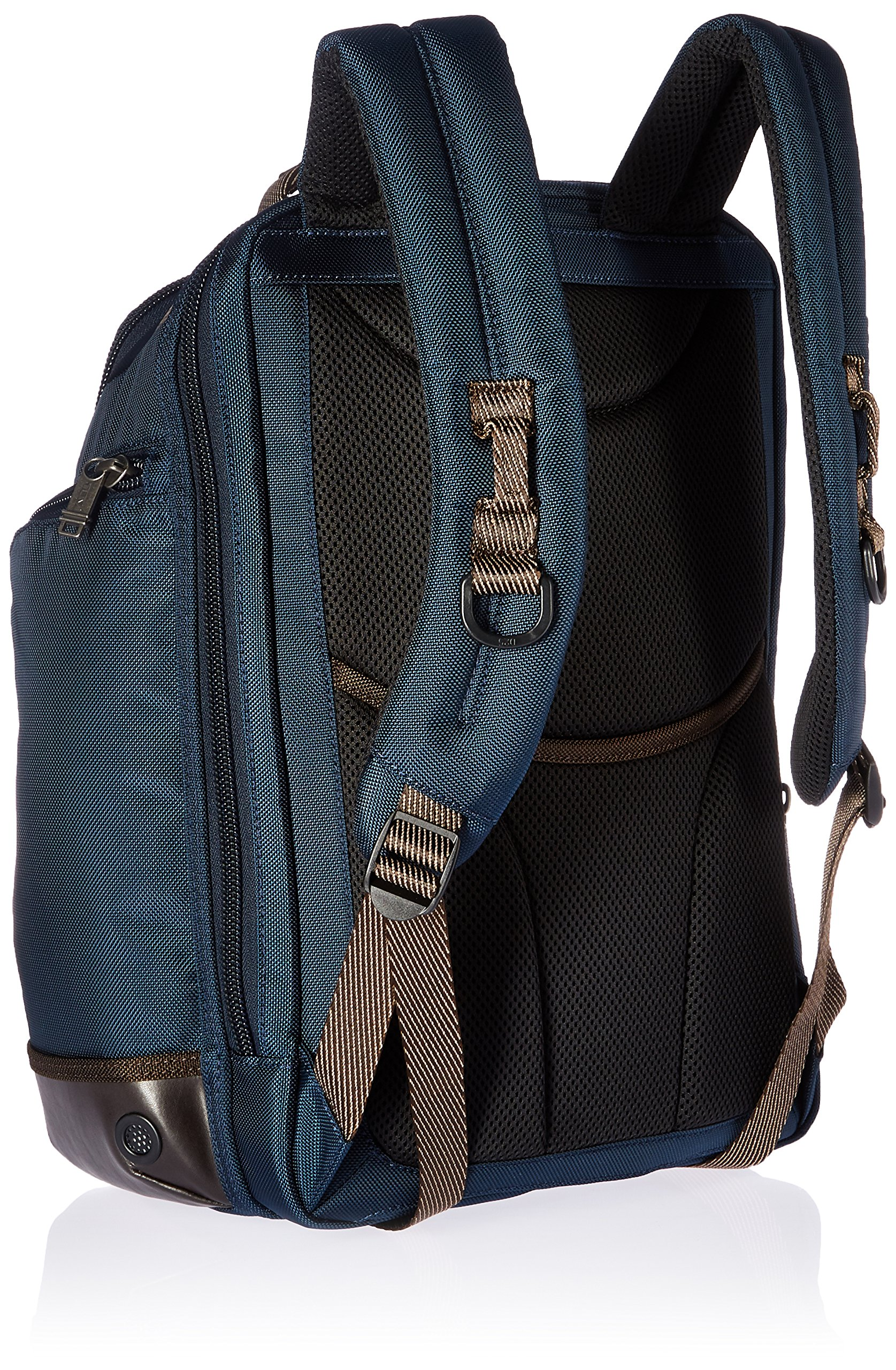 Tumi Alpha Bravo Shaw Deluxe Brief Pack, Navy by Tumi (Image #2)
