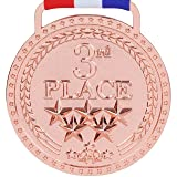 3rd Place Winner Bronze Award Medal, Bright Bronze