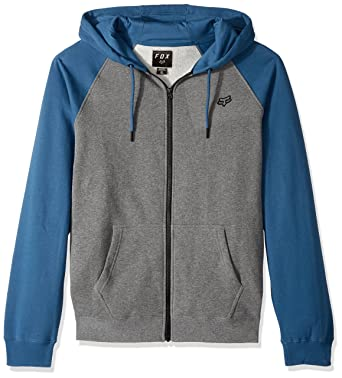 Sudadera Fox Racing: Legacy Zip Fleece GR M: Amazon.es: Ropa y accesorios