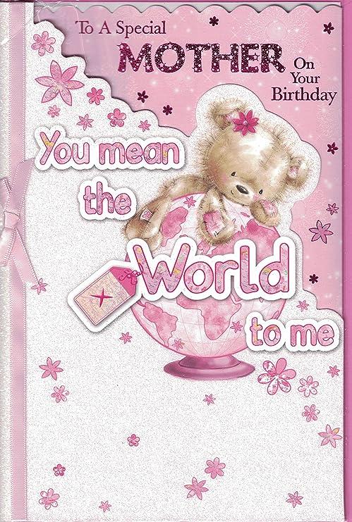 Madre Tarjeta de cumpleaños - para tu cumpleaños especial ...