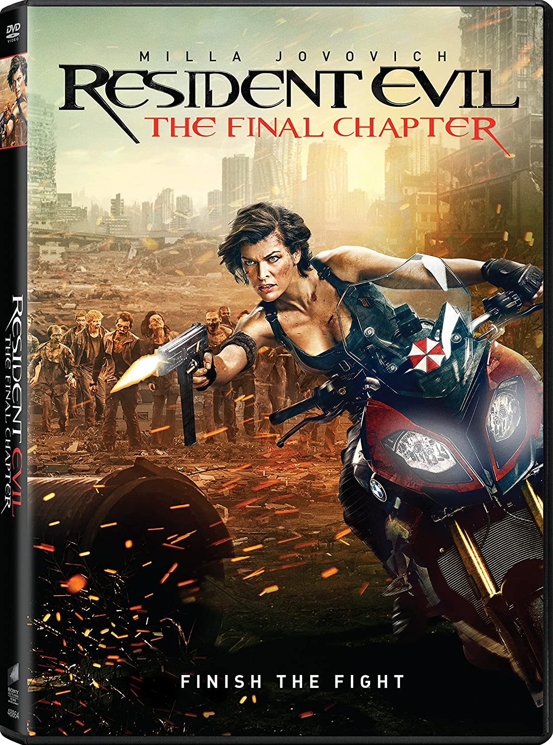 Amazon Com Resident Evil The Final Chapter Milla Jovovich Ruby