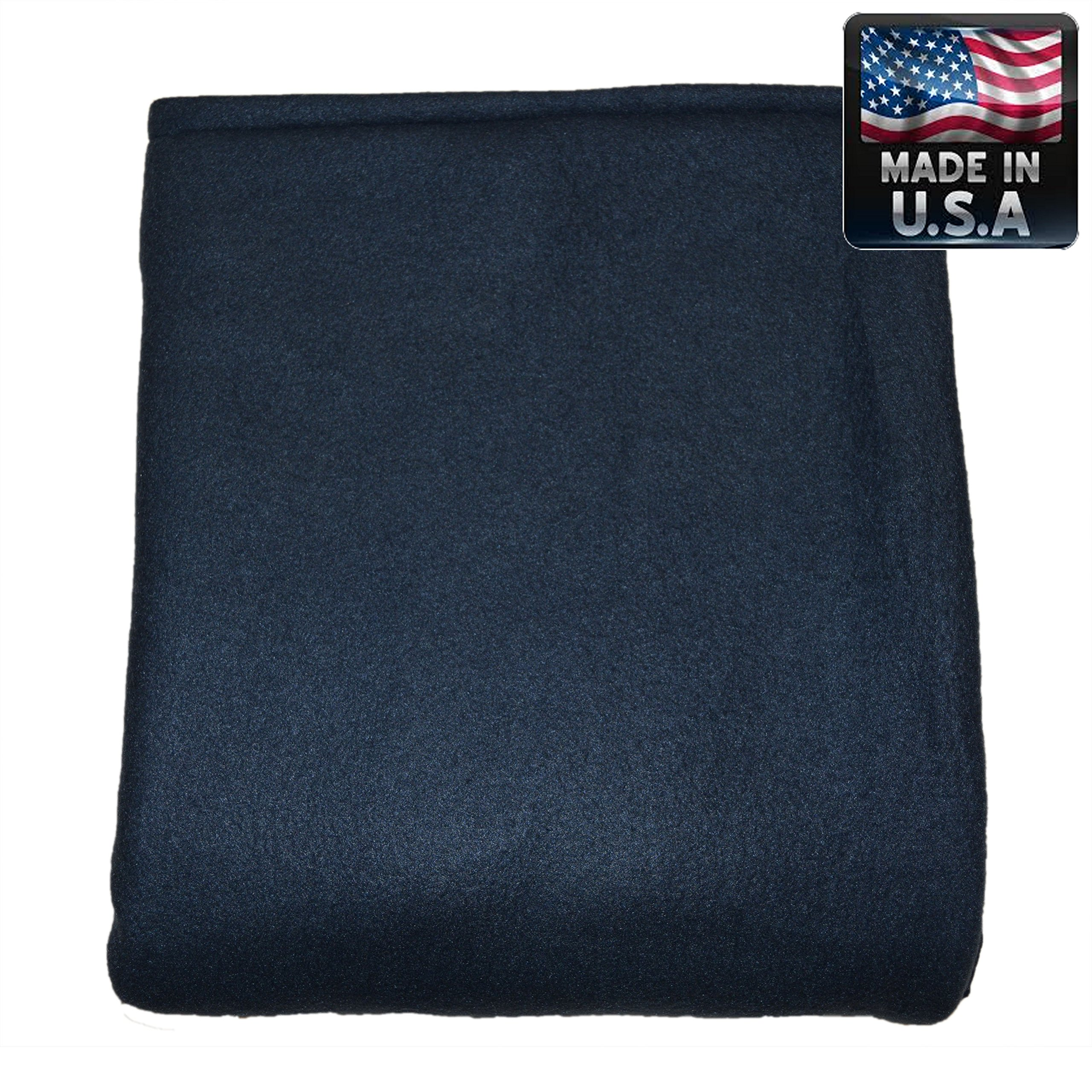 Melissa's Weighted Blankets 25lbs Adult Size NAVY Great for Insomnia, Anxiety relief, Autism, Aspergers, SPD, ADHD, and PTSD. Overall stress reliever! Extra Large 80x58'' size