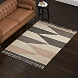 Amazon Brand – Rivet Modern Textured Area Rug, 5 x 8 Foot, Multicolored