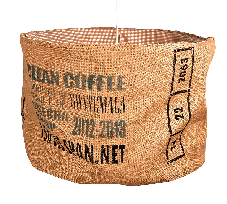 Lampara de techo COFFEE mediana: Amazon.es: Handmade