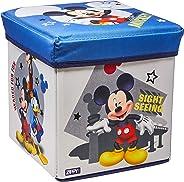 Porta Objeto Banquinho Mickey Mimo Style Cinza/Azul