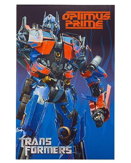 Amazon American Greetings Transformers Birthday Card For Boy