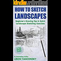 How to Sketch Landscapes: Beginner's Drawing Tip & Quick Landscape Sketching Exercises