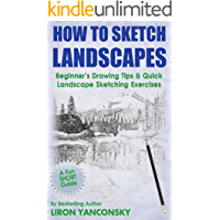 How to Sketch Landscapes: Beginner's Drawing Tip & Quick Landscape Sketching Exercises