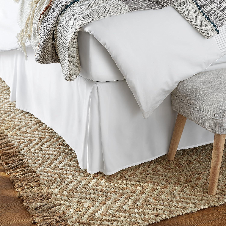 Amazon Basics Pleated Bed Skirts