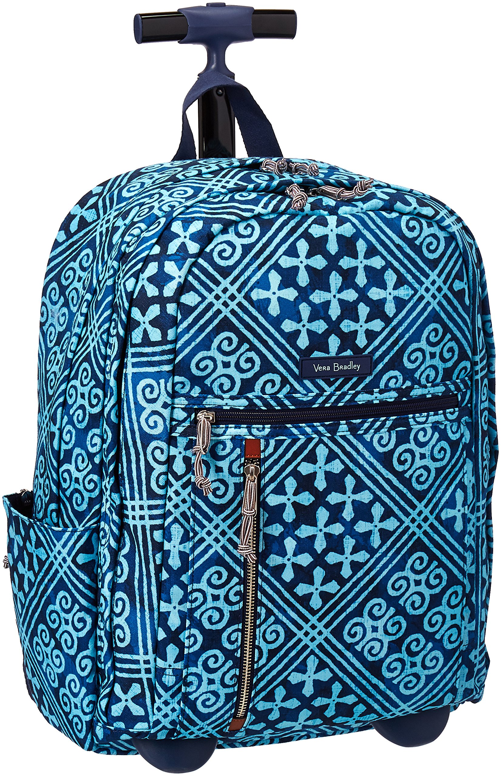 Vera Bradley Women's Rolling Backpack, Cuban Tiles by Vera Bradley