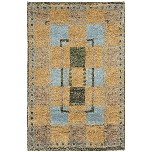Safavieh Selaro Collection SL62B Hand-Knotted Multicolored Wool Area Rug 2 x 3