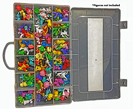 Ash Action Figures Case Organizer With Ebook By Brand| STOP LOOKING! GET  THE ULTIMATE