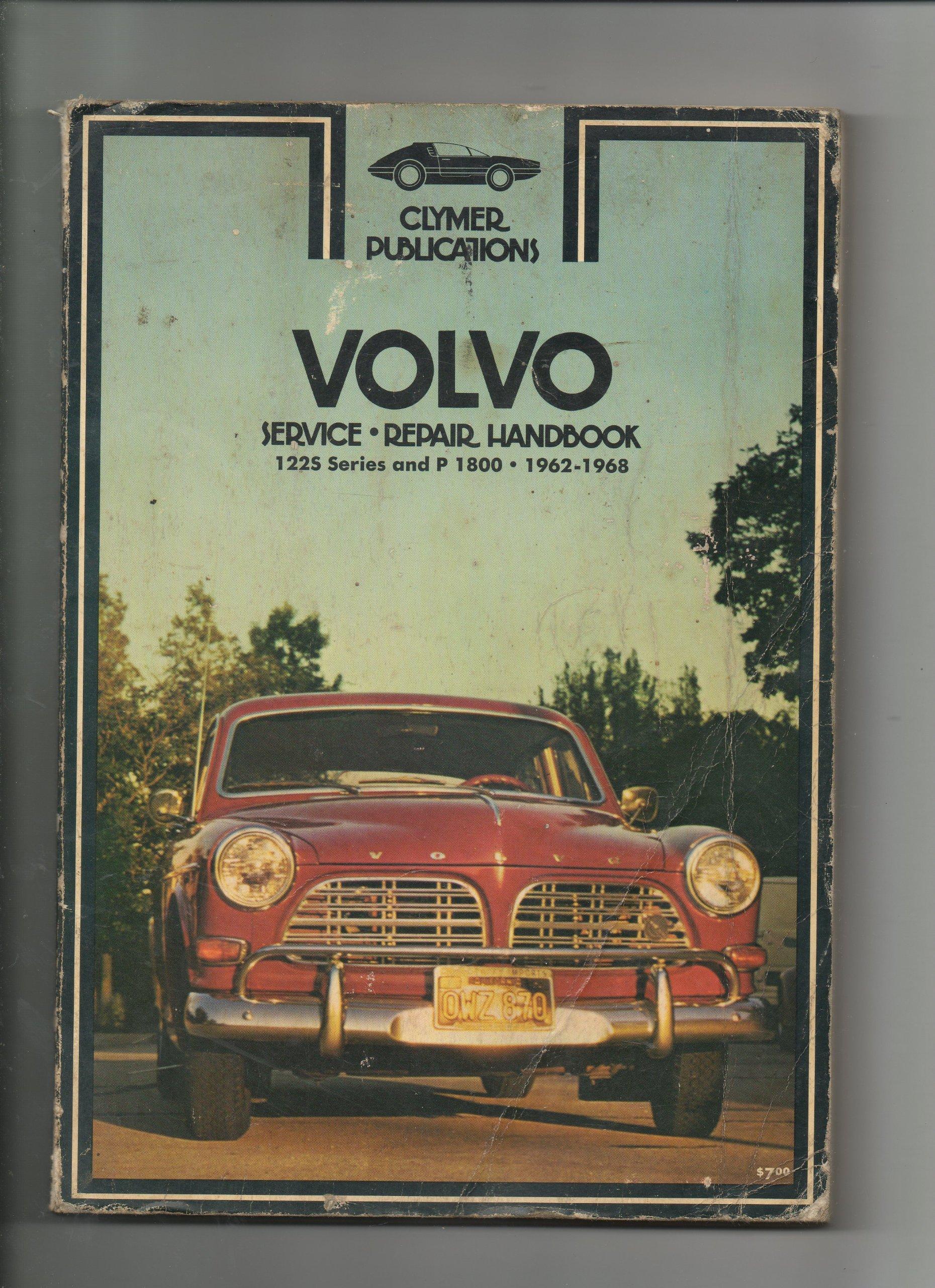 Volvo Service Repair Handbook 1225 Series & P 1800 1962 1968