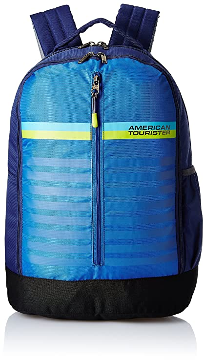 80f55b5163d American Tourister 28 Ltrs Blue Casual Backpack (AMT PING Backpack 01 - Blue )