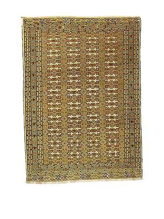 Amazon De L Eden Del Tappeto Teppich Yomud Grun Beige 291 X 210 Cm
